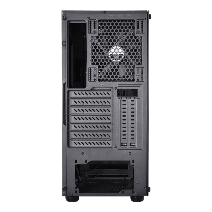 SST-PS14B-E, No PSU, ATX, Black, Mid Tower Case