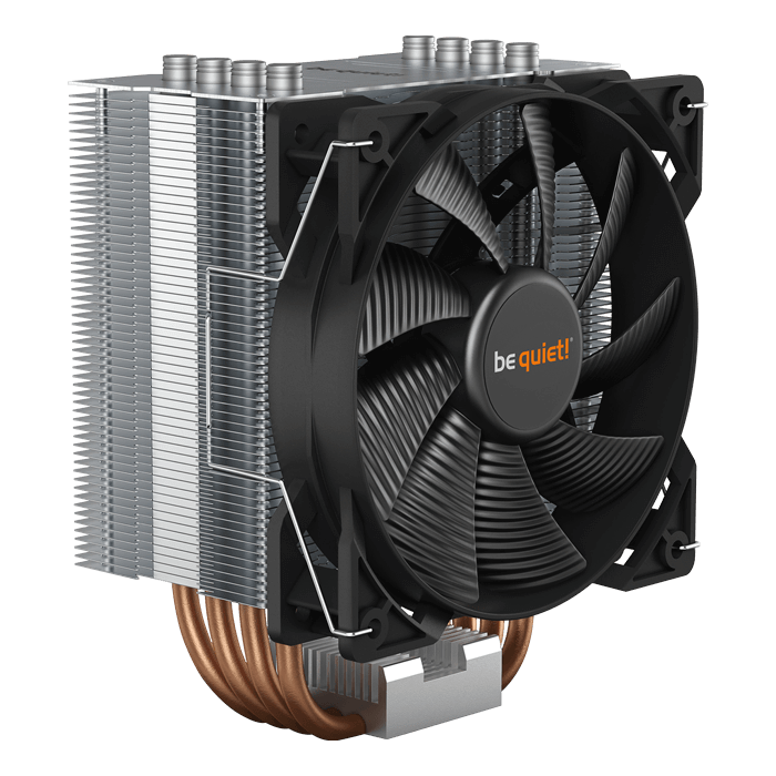 Pure Rock 2, 155mm Height, 150W TDP, Copper/Aluminum CPU Cooler