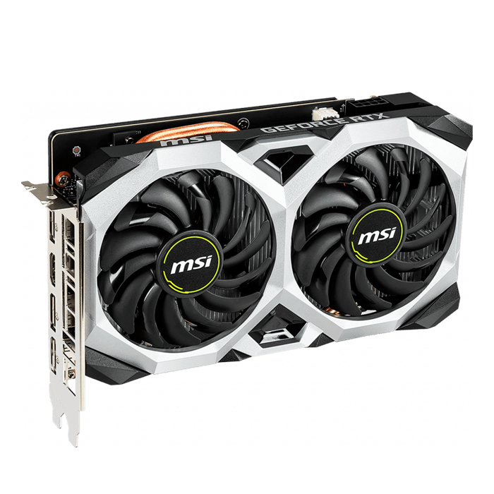 GeForce RTX™ 2060 VENTUS XS 6G, 1365 - 1680MHz, 6GB GDDR6, Graphics Card