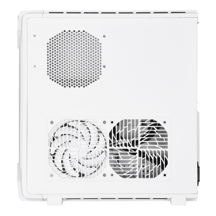 RAVEN Series SST-RVZ03W-ARGB, No PSU, Mini-ITX, White, Slim Case