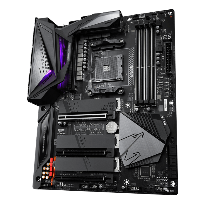 B550 AORUS MASTER, AMD B550 Chipset, AM4, HDMI, ATX Motherboard