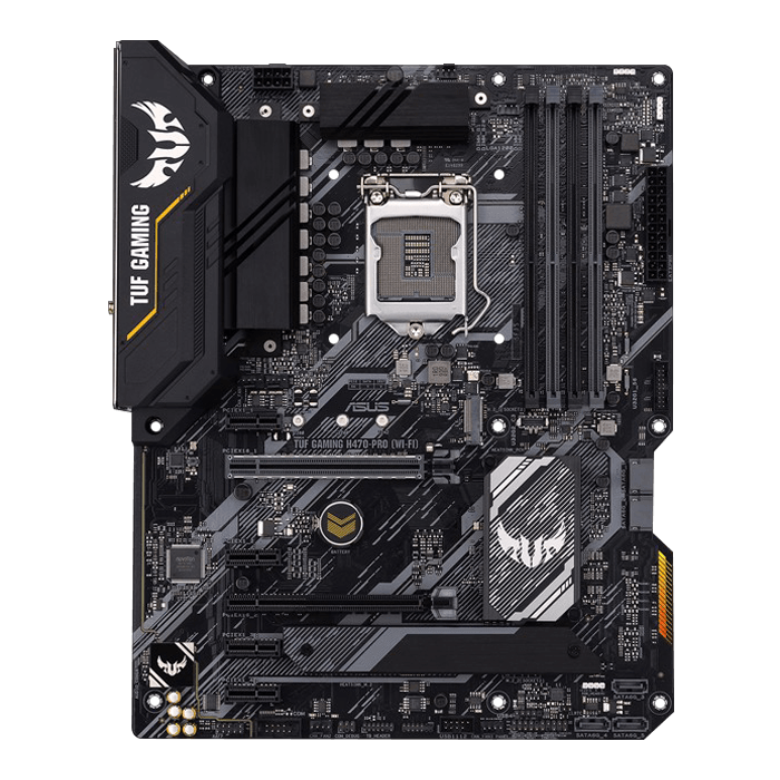 TUF Gaming H470-Pro (WI-FI), Intel® H470 Chipset, LGA 1200, DP, ATX Motherboard