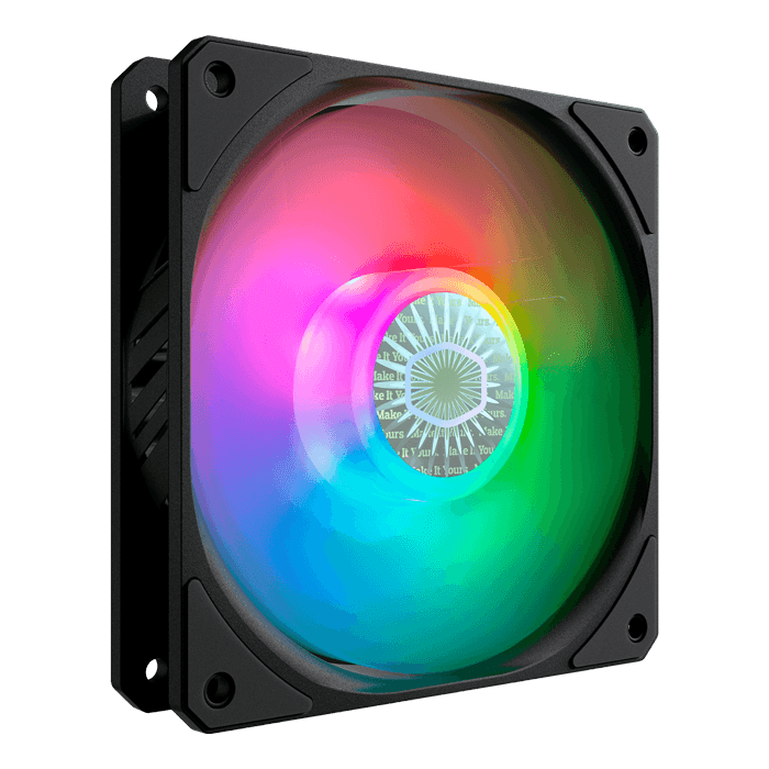 SICKLEFLOW 120 ARGB 3 x 120mm, w/ Controller, 1800 RPM, 62 CFM, 27 dBA, Cooling Fan