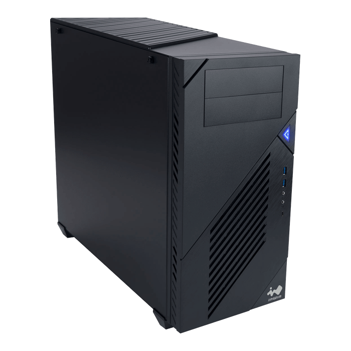 C200, No PSU, E-ATX, Black, Mid Tower Case