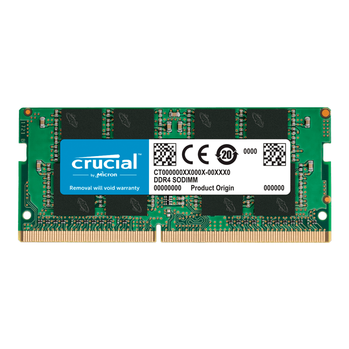 8GB CT8G4SFRA266 DDR4 2666MHz, CL19, SO-DIMM Memory