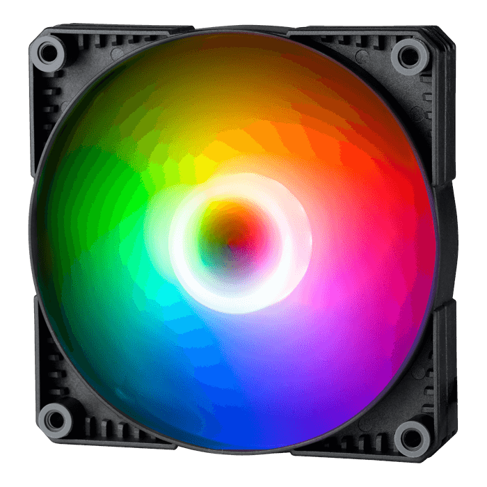 PH-F120SK D-RGB PWM 120mm, 1500 RPM, 50 CFM, 27 dBA, Cooling Fan