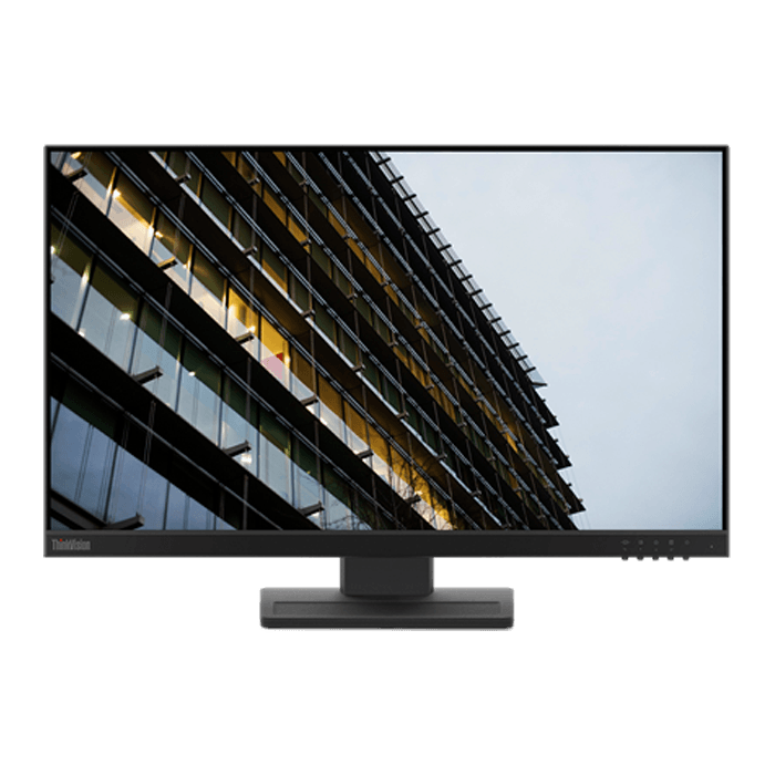 "ThinkVision E24-20 23.8"" (62A5MAR4US), Full HD 1920 x 1080 IPS LED, 14ms, Black, LCD Monitor"