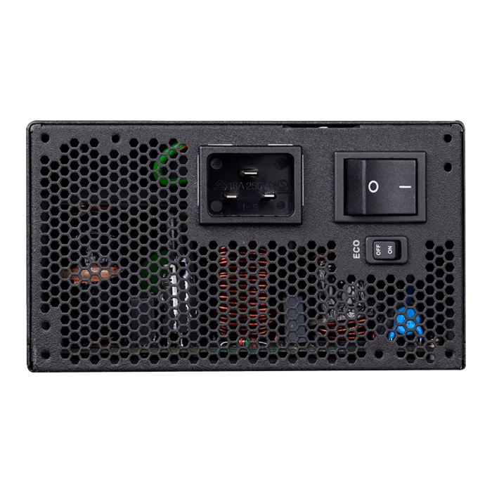 1600 G+, 80 PLUS Gold 1600W, ECO Mode, Fully Modular, ATX Power Supply