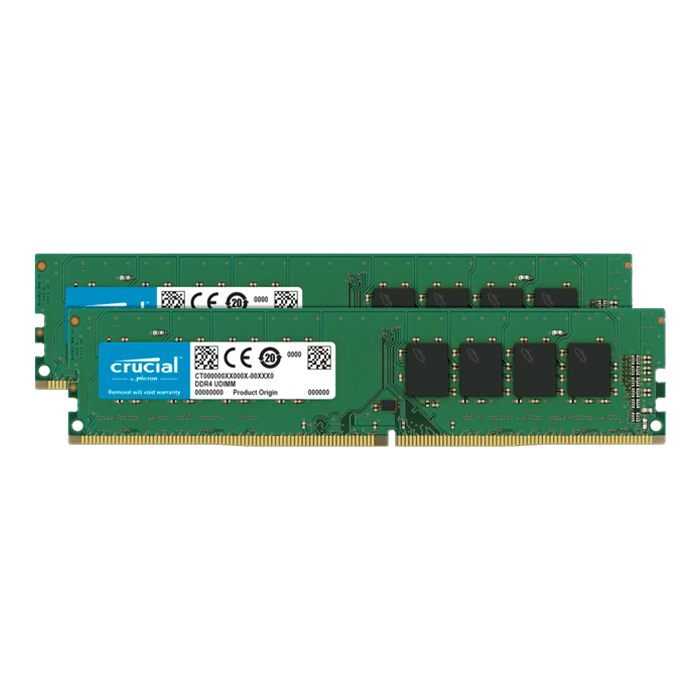32GB Kit (2 x 16GB) DDR4 3200MHz, CL22, DIMM Memory