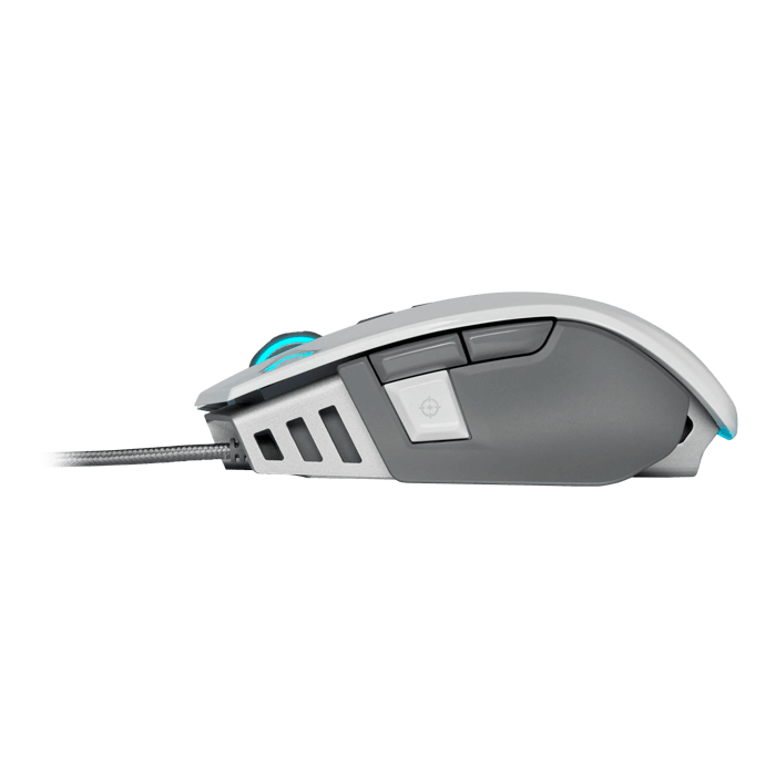 M65 RGB ELITE Tunable FPS, RGB LED, 18000dpi, Wired USB, White, Optical Gaming Mouse