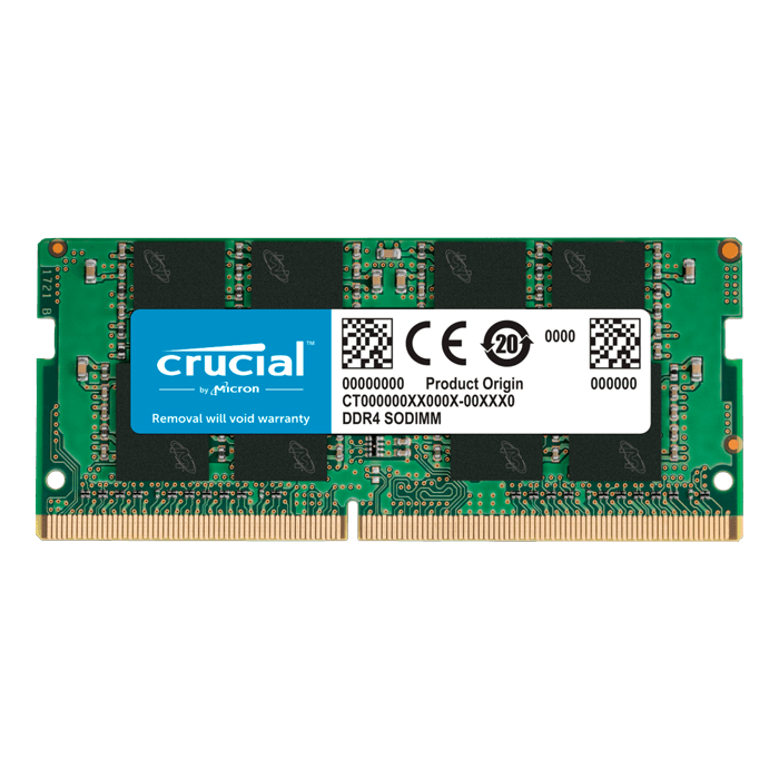16GB CT16G4SFS832A DDR4 3200MHz, CL22, SO-DIMM Memory