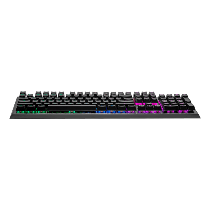 CK550 V2, RGB LED, Blue Switches, Wired USB, Gunmetal Black, Mechanical Gaming Keyboard