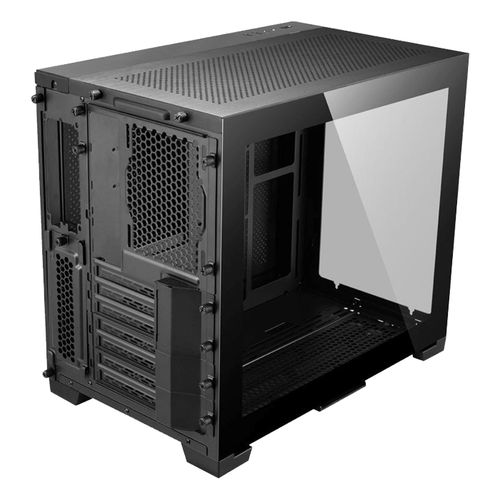 O11 Dynamic MINI Tempered Glass, No PSU, ATX, Black, Mini Tower Case