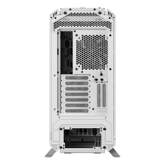Silent Base 802 Tempered Glass, No PSU, E-ATX, White, Mid Tower Case