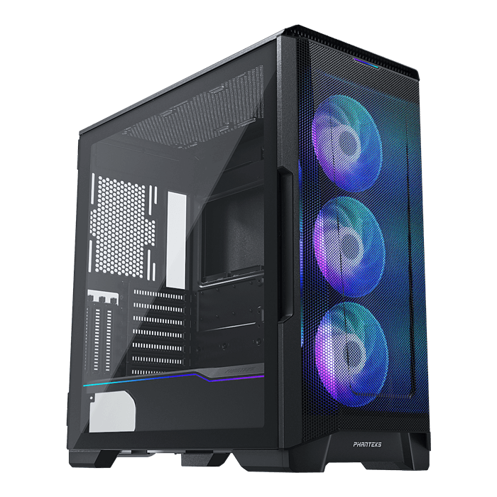 Eclipse Series P500A D-RGB Tempered Glass, No PSU, E-ATX, Black, Mid Tower Case