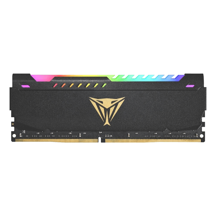 8GB Viper Steel RGB DDR4 3600MHz, CL20, Black, DIMM Memory