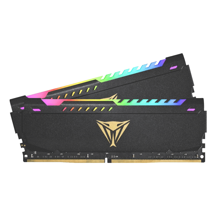 16GB Kit (2 x 8GB) Viper Steel RGB DDR4 3600MHz, CL20, Black, DIMM Memory