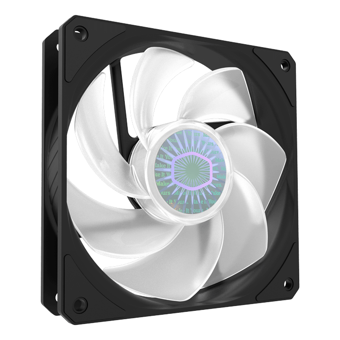 SICKLEFLOW 120 ARGB REVERSE EDITION, 1800 RPM, 62 CFM, 27 dBA, Cooling Fan