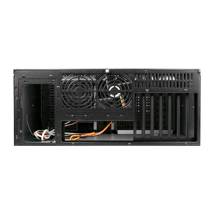 "D Storm D-400-7P, 7x 5.25"" and 2x 3.5"" Drive Bays, No PSU, ATX, Black, 4U Chassis"