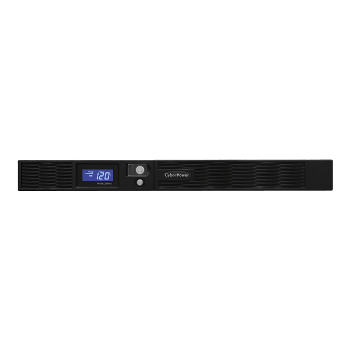 Smart App Sinewave PR750LCDRM1U, 750VA/560W, 120V, 6 Outlets, Black, Tower/1U Rackmount UPS