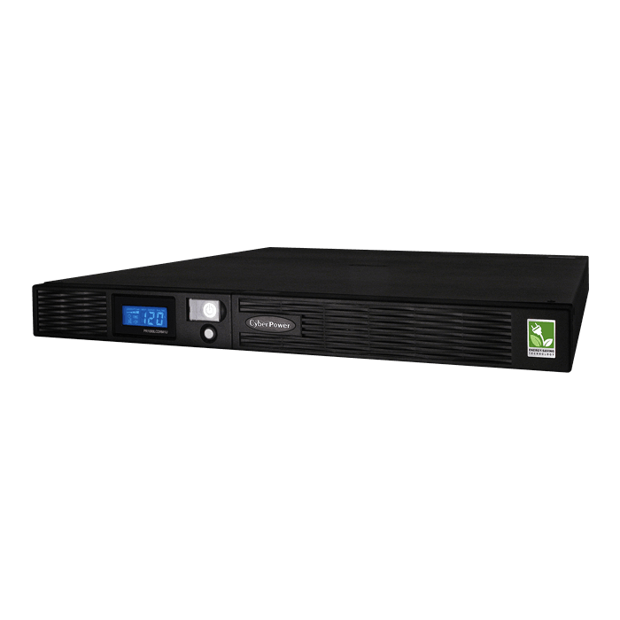 Smart App Sinewave PR1000LCDRM1U, 1000VA/750W, 120V, 6 Outlets, Black, Tower/1U Rackmount UPS