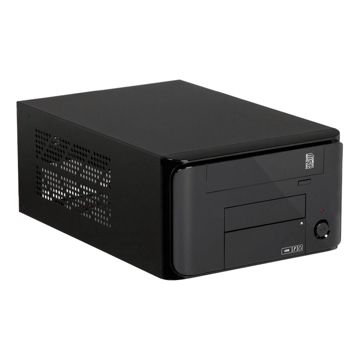 MI Series MI-008, 250W PSU, Mini-ITX, Black, Mini Cube Case