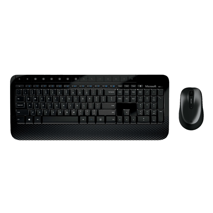 600, Wired USB, Black, Keyboard & Mouse