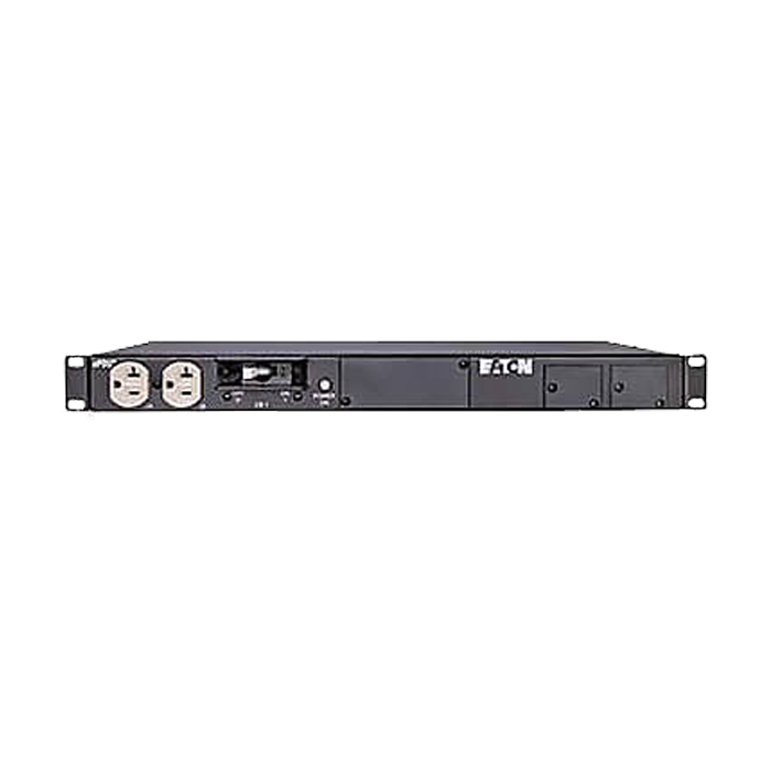 Basic Power Distribution Unit, 1U Rack, 5-20P / 12 NEMA 5-20R, 120V AC, 50/60Hz, 16A, w/ 1 1P 20A Circuit Breaker, Black