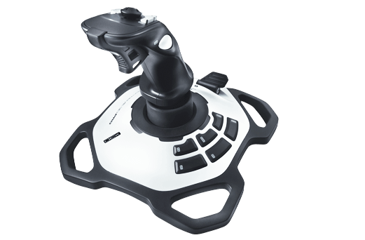 Extreme Series 3D Pro, Flight Simulator, Black, Retail Joystick