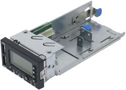 Local Control Panel for SR1400/SR2400 Server Chassis (Intel Server  Management Module required)