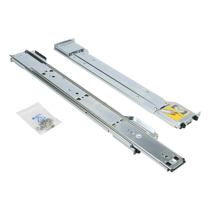 Rackmount Rail Kit for SC758A-R2800B and SC846BE16-R920B, Quick Release, Tool-less