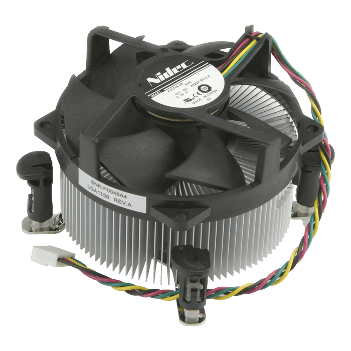 SNK-P0046A4 Socket 1150/1155/1156 Active Heatsink for 2U Server Chassis, 2800 RPM