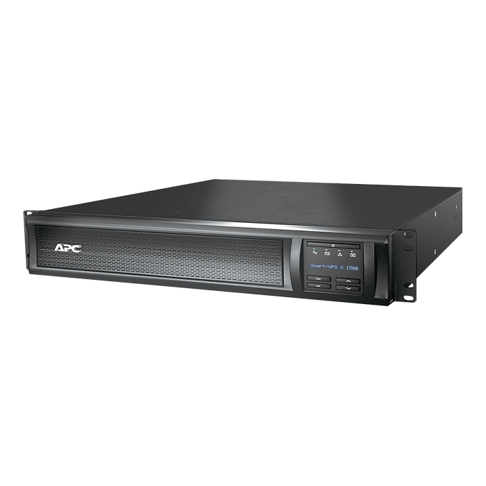 Smart-UPS X SMX1500RM2UNC, 1500VA/1200W, 120V, 8 Outlets, Black, Tower/2U Rackmount UPS