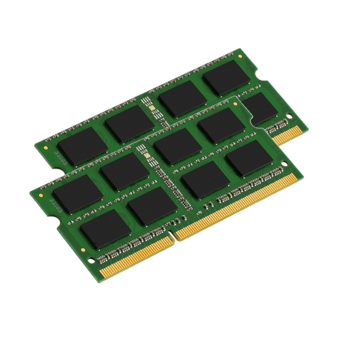 8GB Kit (2 x 4GB) DDR3 1333MHz, PC3-10600, CL9 (9-9-9-24) 1.5V, Non-ECC, SO-DIMM Memory