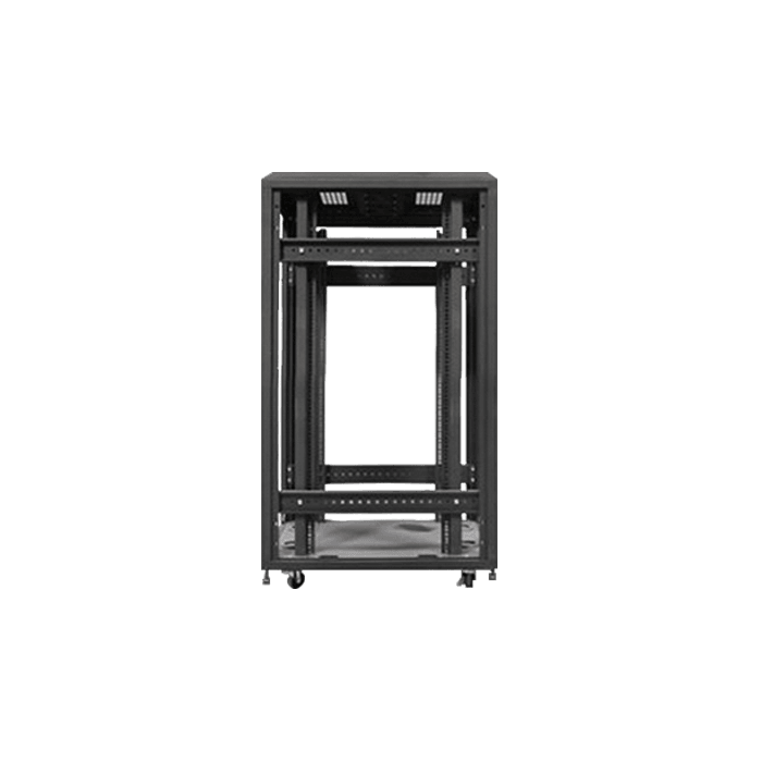 WX-228, 22U, 4-Post 800mm, Open Frame Rack