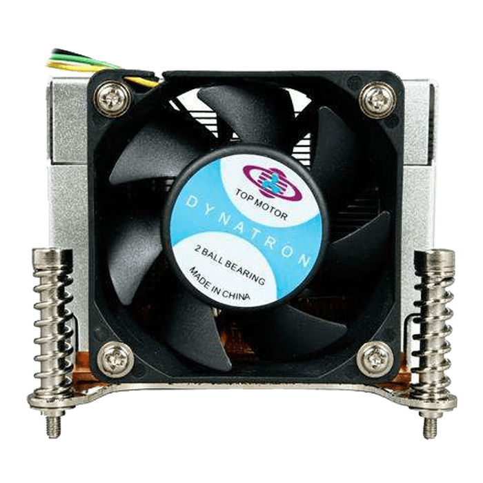 K666, 60mm Height, Copper/Aluminum CPU Cooler