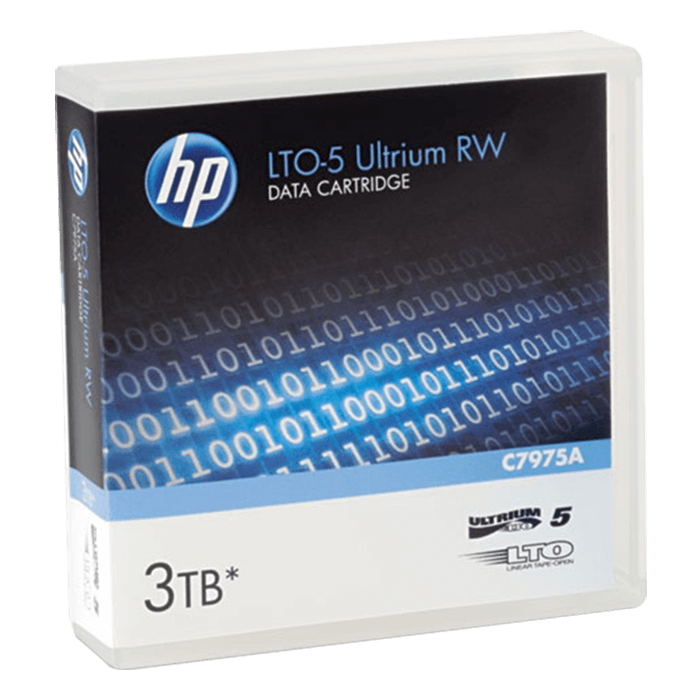 C7975A HP LTO-5 Ultrium 3TB RW Data Cartridge