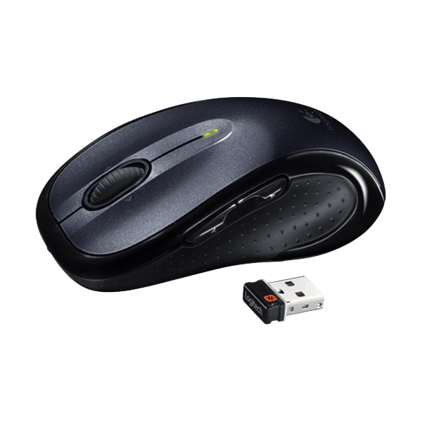 M510, 1000dpi, Wireless 2.4GHz, Black, Laser Mouse