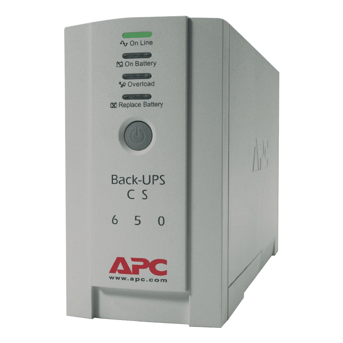 Back-UPS 500, 500VA/300W, 120V, 6 Outlets, Beige, Tower UPS