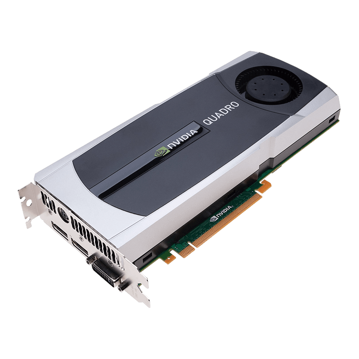 Quadro 5000, 2.5GB GDDR5, Graphics Card