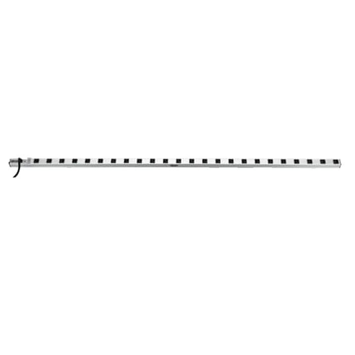 PS7224-20T, 24 Outlets, 15-ft cord, 120V/20A, White/Black, Power Strip