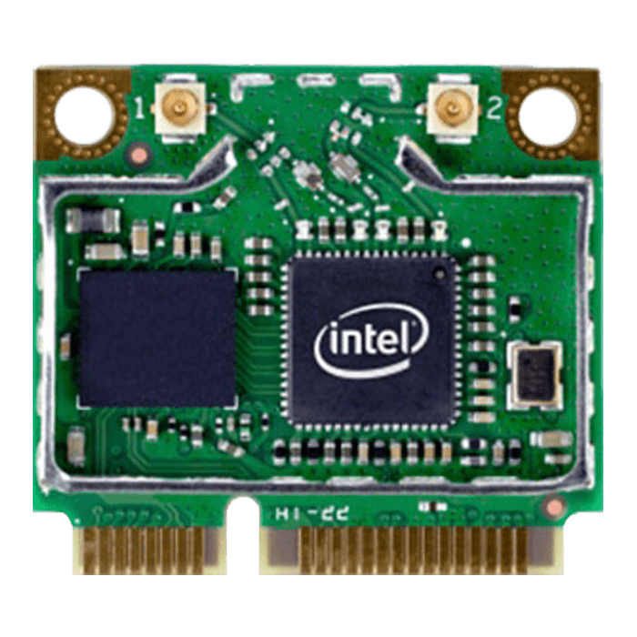 Centrino® Advanced-N 6205 Wireless Card, IEEE 802.11a/b/g/n, 11/54/300 Mbps, Internal PCIe Half Mini Card