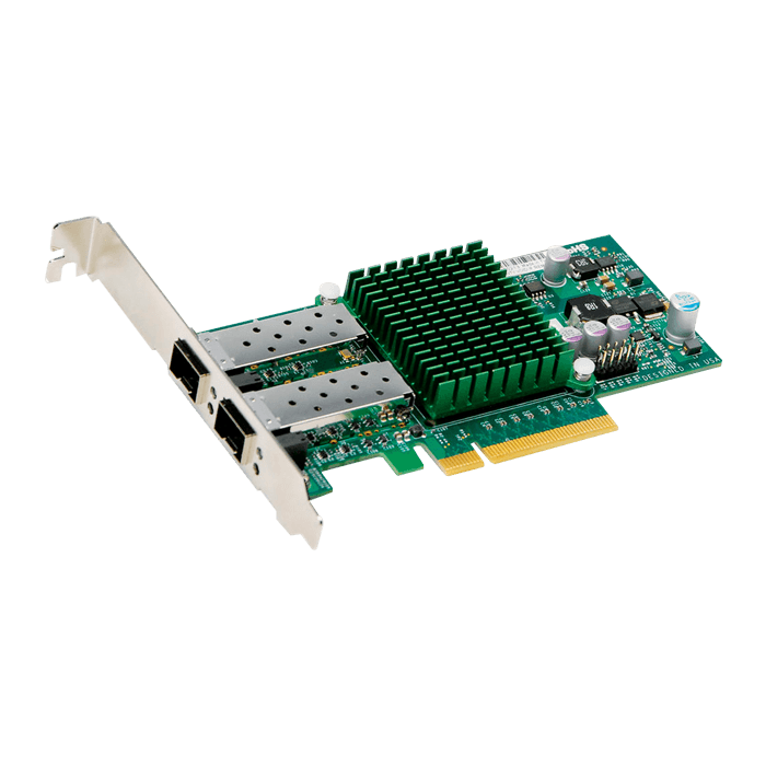 10Gbps Ethernet Network Adapter, AOC-STGN-I2S, (2x SFP+)