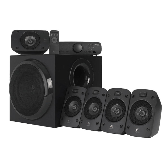 Z906, 5.1 (5 x 67W + 165W), Wired Remote, 3D Sound iPod Supported, Black, Retail Speaker System