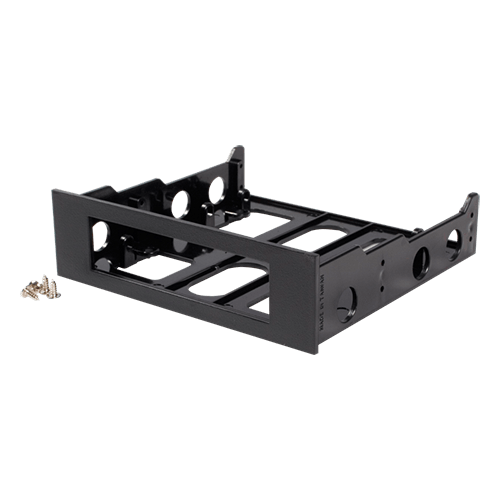 "Bracket for 3.5"" Floppy with Bezel and 5.25-inch to 3.5-inch Bay Converter"