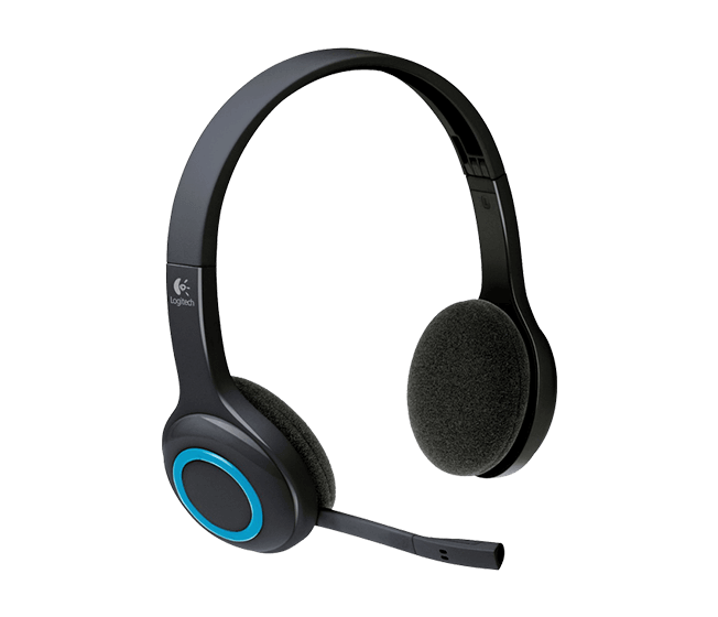 H600, Wireless USB, Black, Headset