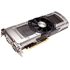 GeForce® GTX 690 915MHz, 4GB GDDR5 6008MHz, PCIe x16 SLI, 3x DVI + mini-DP, OEM