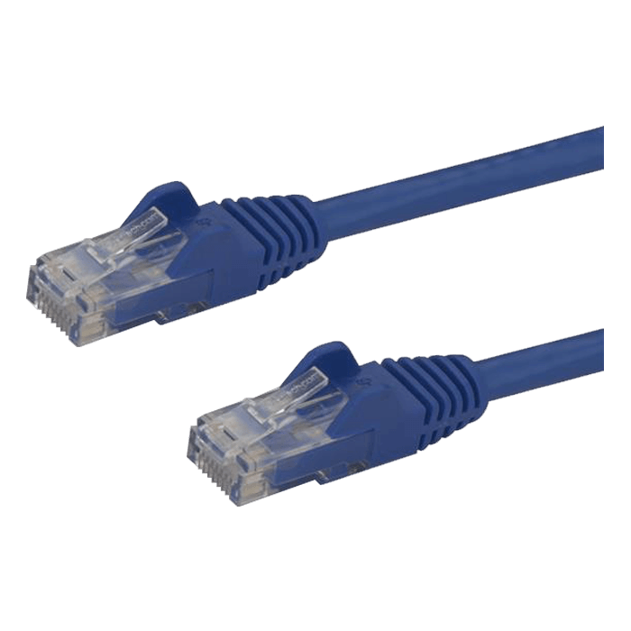 N6PATCH5BL 5ft GbE Snagless RJ45 UTP Cat6 Patch Cable Blue