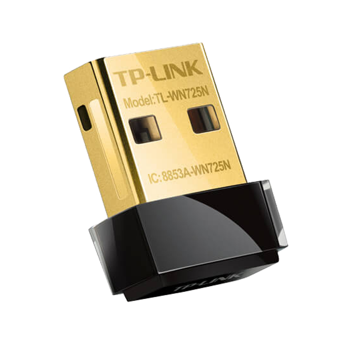 TL-WN725N, External, 2.4GHz, 150 Mbps, USB, Wireless Adapter