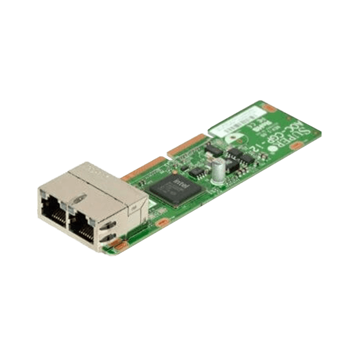 1Gbps Ethernet Network Adapter, AOC-CGP-I2, MicroLP, (2x RJ45)